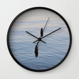 Alone Together Wall Clock