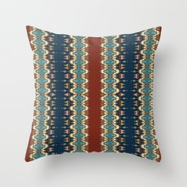 Queen of Knitting Throw Pillow