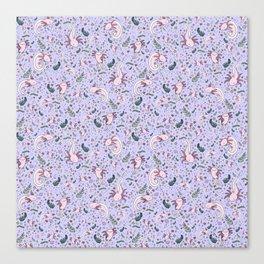 Axolotl Pattern Canvas Print