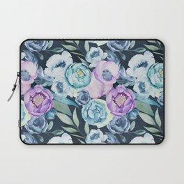 Dark Floral Spring Laptop Sleeve