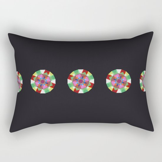 Mandaliscope 3 Rectangular Pillow