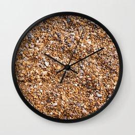 Stony Beach Wall Clock