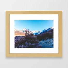 Hiking to Laguna Torre, Patagonia, Argentina Framed Art Print