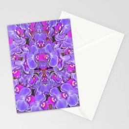Violet Orchid Pleasure Stationery Cards