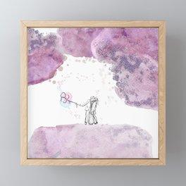 Love Couple Framed Mini Art Print