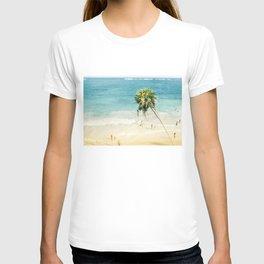 Tilt Shift Beach Photo T-shirt