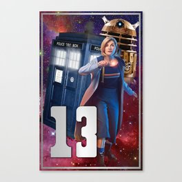 Doctor 13th Canvas Print