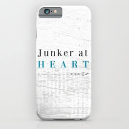 Junker at Heart iPhone Case