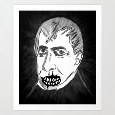 09. Zombie William Harrison  Art Print