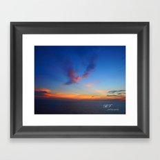 Angel of the Morning Framed Art Print