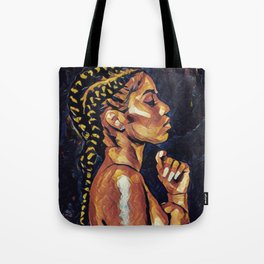 Bronze and Braids Tote Bag