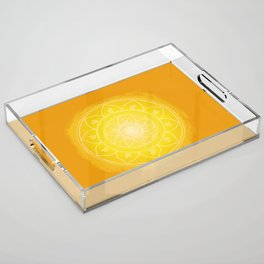 MANIPURA Boho mandala Acrylic Tray