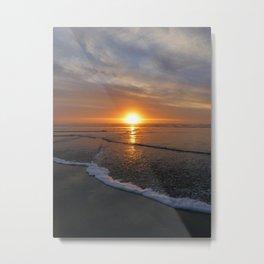 Sun-kissed Sea Metal Print