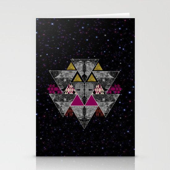 Galaxy trance  Stationery Cards