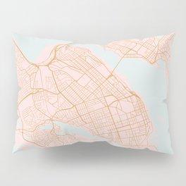 Halifax map, Canada Pillow Sham
