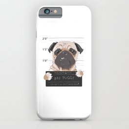 Great design for men and women who loves dogs iPhone Case