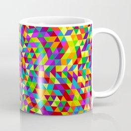 Happy triangle mandala 2 Coffee Mug