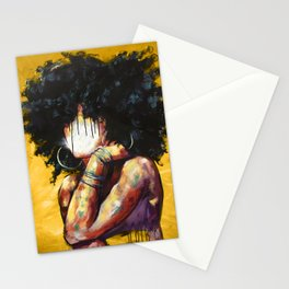 Naturally II GOLD Stationery Cards