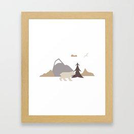 Bear Scene Framed Art Print