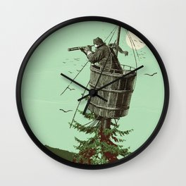 DISCOVERING PORTLAND Wall Clock