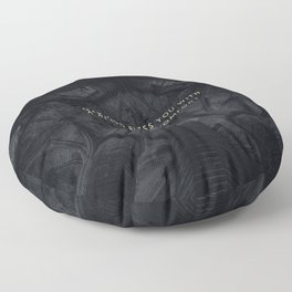 A RESTLESS DISCOMFORT Floor Pillow