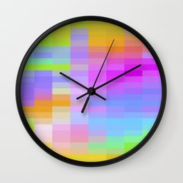 VELOCITY OF CHANGE Wall Clock
