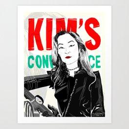 Kim's Convenience Art Print