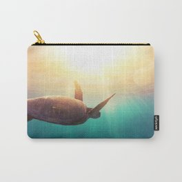 Sea Turtle - Underwater Nature Photography Carry-All Pouch