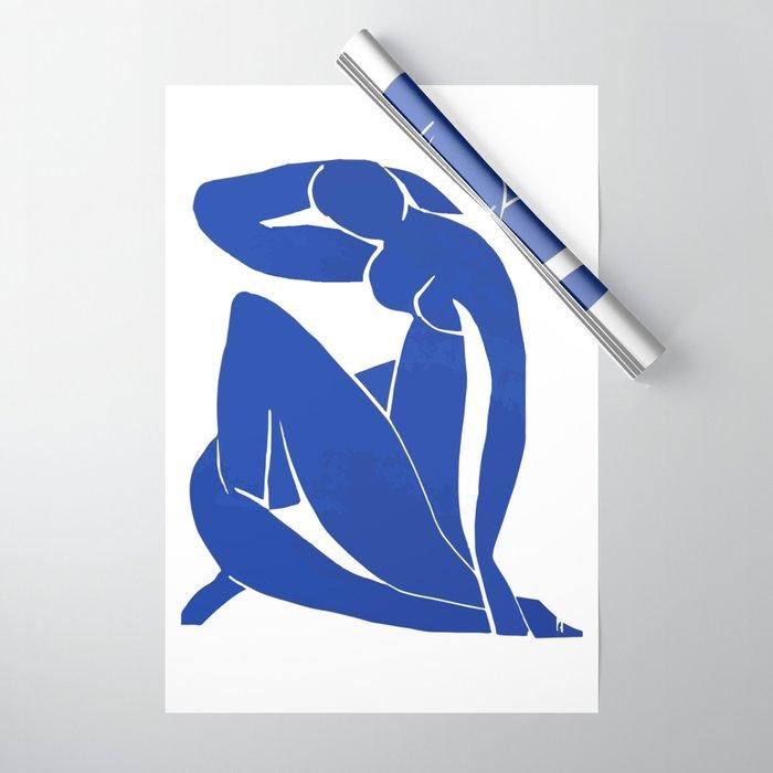 Henri Matisse - Blue Nude 1952 - Original Artwork Reproduction Wrapping Paper
