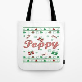 Poppy Christmas Tote Bag