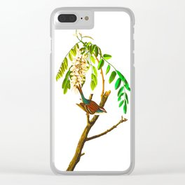 Chipping Sparrow Bird Clear iPhone Case