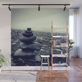 Cairns in Iceland Wall Mural
