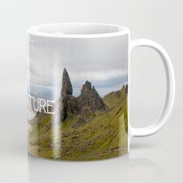 The adventure begins in Scotland Coffee Mug