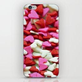 Valentine Hearts iPhone Skin