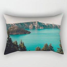 Dreamy Lake - Nature Photography Rectangular Pillow
