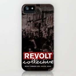 Revolt : Black Friday iPhone Case