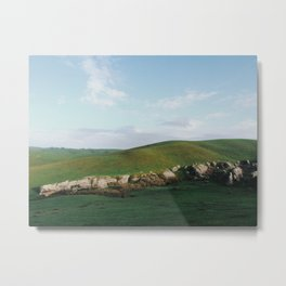 Rocky Hills of Northern California Metal Print