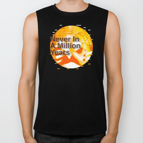 Never In A Million Years < The NO Series (Orange) Biker Tank