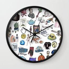 Objects Wall Clock