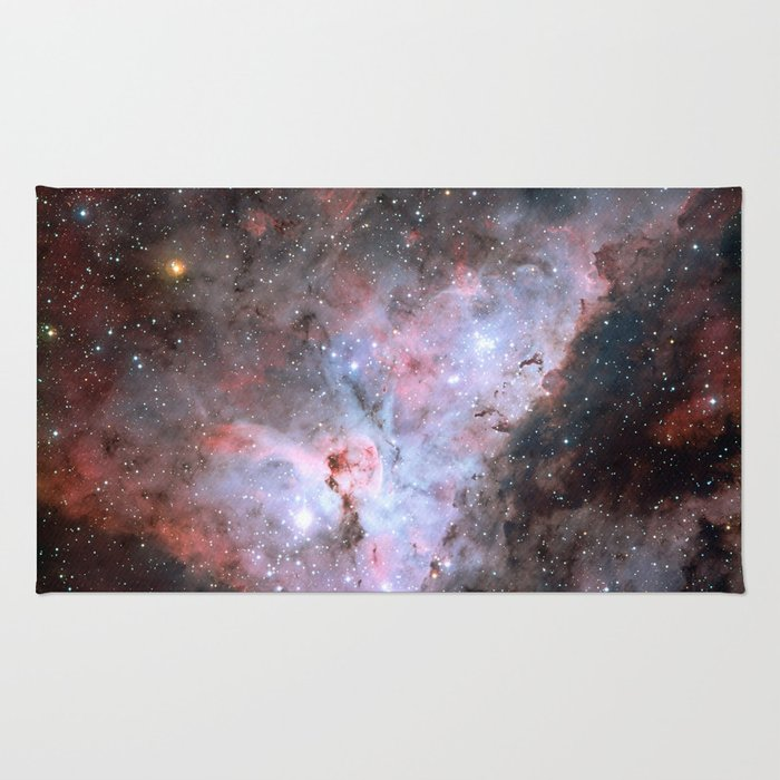 Stars in Space Astronomy Art Rug
