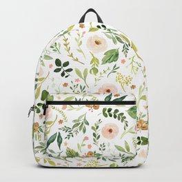Botanical Spring Flowers Backpack