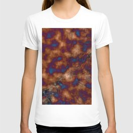 Brown vibration T-shirt