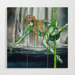 Pole Creatures - Water Nymph Wood Wall Art