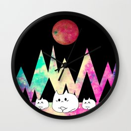 cats 261 Wall Clock