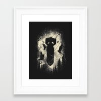 bombs away Framed Art Prints featuring Bombs Away by nicebleed