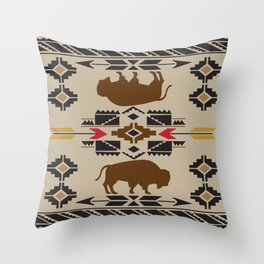 American Native Pattern No. 180 Throw Pillow