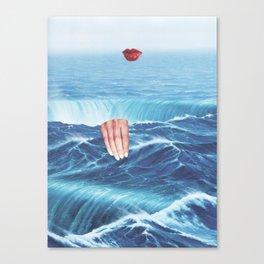 Red Lips IX Canvas Print