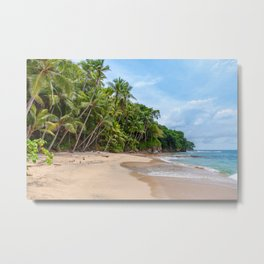 Tropical Beach IV Metal Print