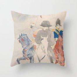 Henri de Toulouse-Lautrec Napoleon Throw Pillow