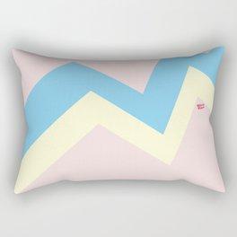 PASTEL EASTER EGG I #minimal #art #design #easter #egg #kirovair #buyart #decor #home Rectangular Pillow